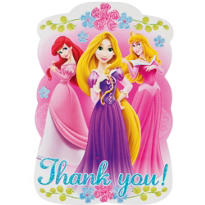 Disney Princess Thank You Notes 8ct