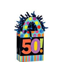Year To Celebrate 50 Balloon Weight 5.7oz