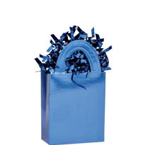 Royal Blue Mini Tote Balloon Weight 5.7oz