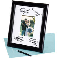Framed Autograph Mat 15in x 12in