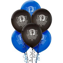 Dallas Mavericks Latex Balloon 12in 6ct