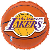 Los Angeles Lakers Pinata 18in