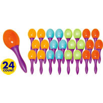 Mini Maracas 24ct<span class=messagesale><br><b>50¢ per piece!</b></br></span>