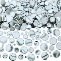 Silver Dot Confetti