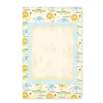 Boy Zoo Printable Baby Shower Invitations 25ct