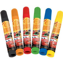 Cars Markers 6ct