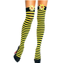 Adult Sunflower Sweetie Thigh High Stockings