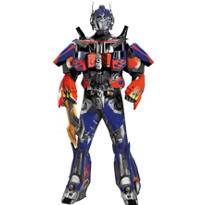 Adult 3D Optimus Prime Costume Theatrical - Transformers