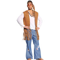 Adult Right On Hippie Costume