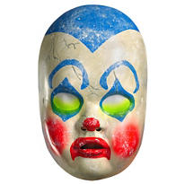 Creepy Clown Doll Mask