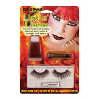 Devil Lips N' Lashes Kit