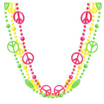 Neon Peace Necklace 3ct