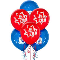 Latex Mickey and Friends Balloons 12in 6ct