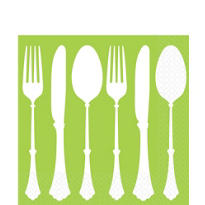 Kiwi Tablesetting Lunch Napkins 16ct