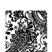Elegant Paisley Lunch Napkins 16ct