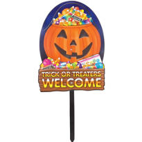 Trick or Treat Welcome Sign 18in
