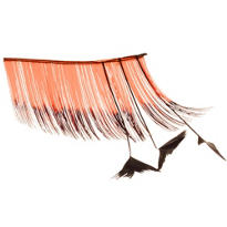 Orange Flirty False Eyelashes