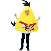 Boys Yellow Angry Birds Costume