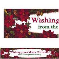 Holiday Enchantment Custom Christmas Banner