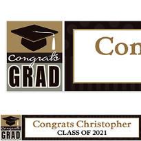 Class Pride Custom Graduation Banner 6ft