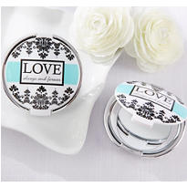 Elegant Mirror Compact Wedding Favor