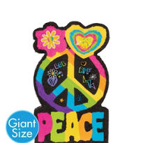 Giant Peace Sign Pinata 36in