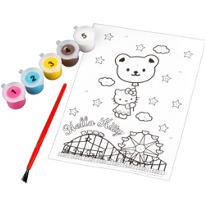 Hello Kitty Paint by Numbers 7pc
