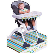 Sweet At One Boy High Chair Kit 3pc
