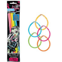 Monster High Glow Sticks 5ct