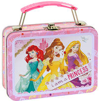 Mini Disney Princess Tin Box