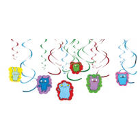 Uglydoll Swirl Decorations 12ct