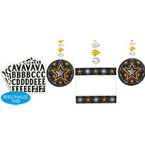 Personalized Danglers 3ct - Glitter Starz