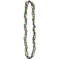 Mardi Gras Twist Necklace 36in