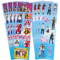 Victorious Stickers 8 Sheets