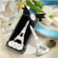 Eiffel Tower Chrome Bottle Opener