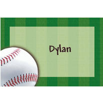 Baseball Fun Custom Thank You Note