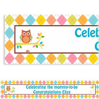Whoo Loves You Custom Banner 6ft