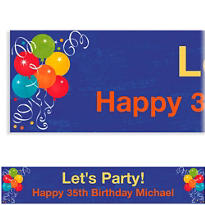 Birthday Fever Custom Banner 6ft