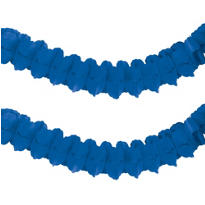 Royal Blue Paper Garland