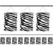 Zebra Lantern Garland