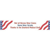 All American Welcome Home Custom Banner 6ft