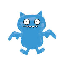 Foil Ice Bat Uglydoll Balloon 29in