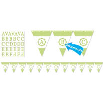 Honeydew Personalize It Pennant Banner Kit 28pc