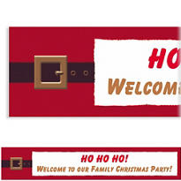 Wonderful Life Custom Christmas Banner