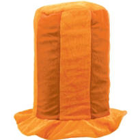 Tall Orange Top Hat