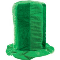 Tall Green Top Hat