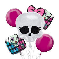 Monster High  Balloon Bouquet 5pc