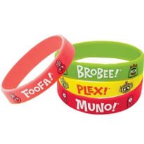 Yo Gabba Gabba Wristbands 4ct