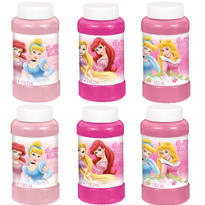 Disney Princess Bubbles 4oz 6ct
