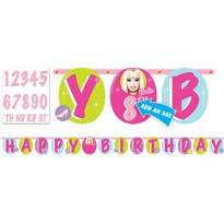 Barbie Banner 10 1/2ft